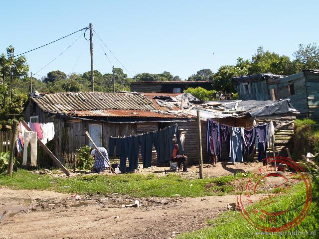 Huisjes in de Township Knysna