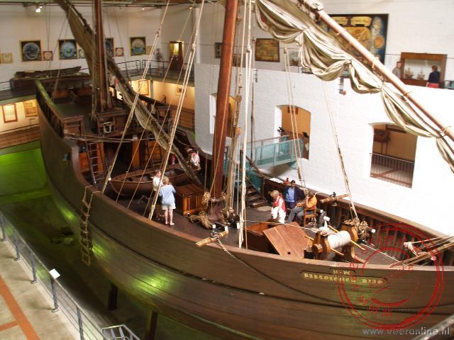 Het schip van Vasco da Gama ligt in Mooselbaai in het museum