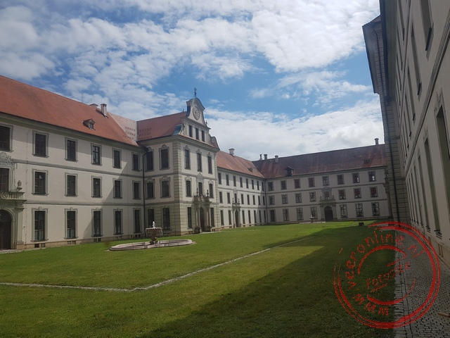 Het klooster van Ottobeuren