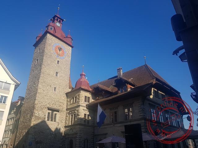 Het stadhuis van Luzern