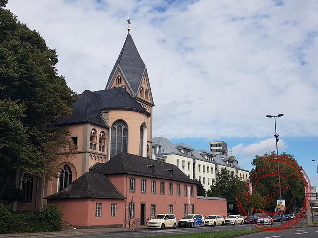 De sobere Mariakerk in Keulen